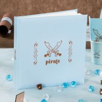 Livre d'or bapteme Pirate