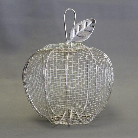 Pomme à dragées fer forgé