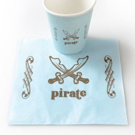 Serviette table Pirate X20