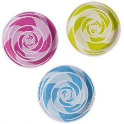 Assiette jetable Spirale X10