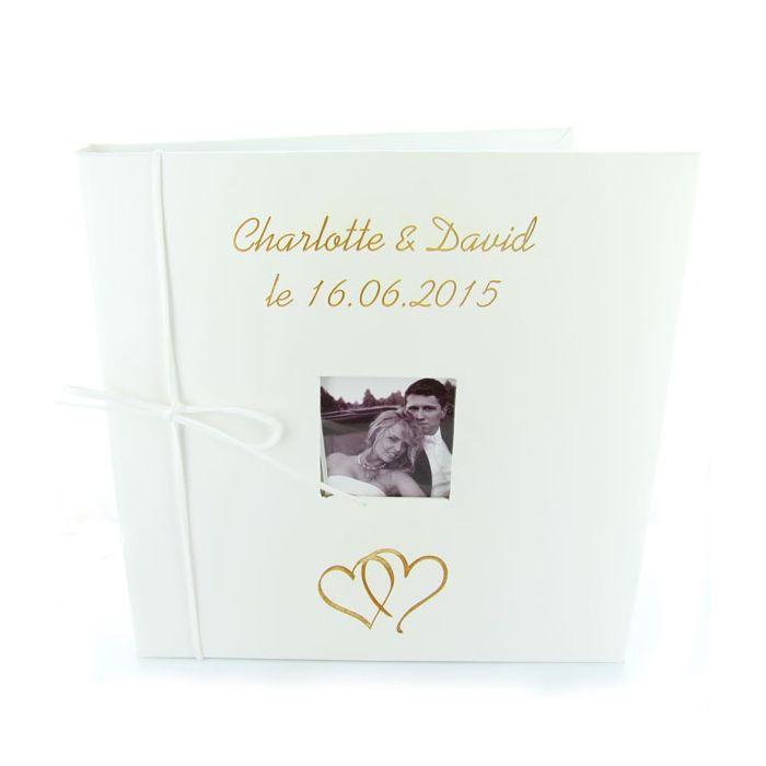 livre d 39 or mariage personnalis et album photo mariage cuir. Black Bedroom Furniture Sets. Home Design Ideas