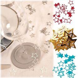 Confettis de table étoiles