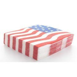 Serviette USA les 10 pieces