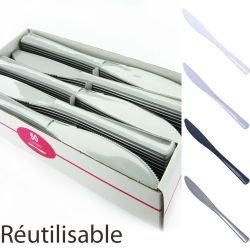 Couteaux plastique jetable X50