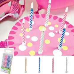 Bougie magique gateau anniversaire 10psc