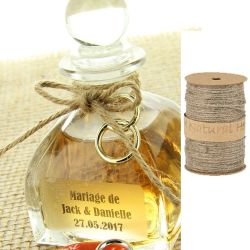 Ficelle Jute naturel 100m x 2mm