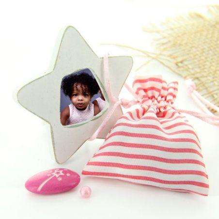 Mini cadre photo étoile / Marque-place