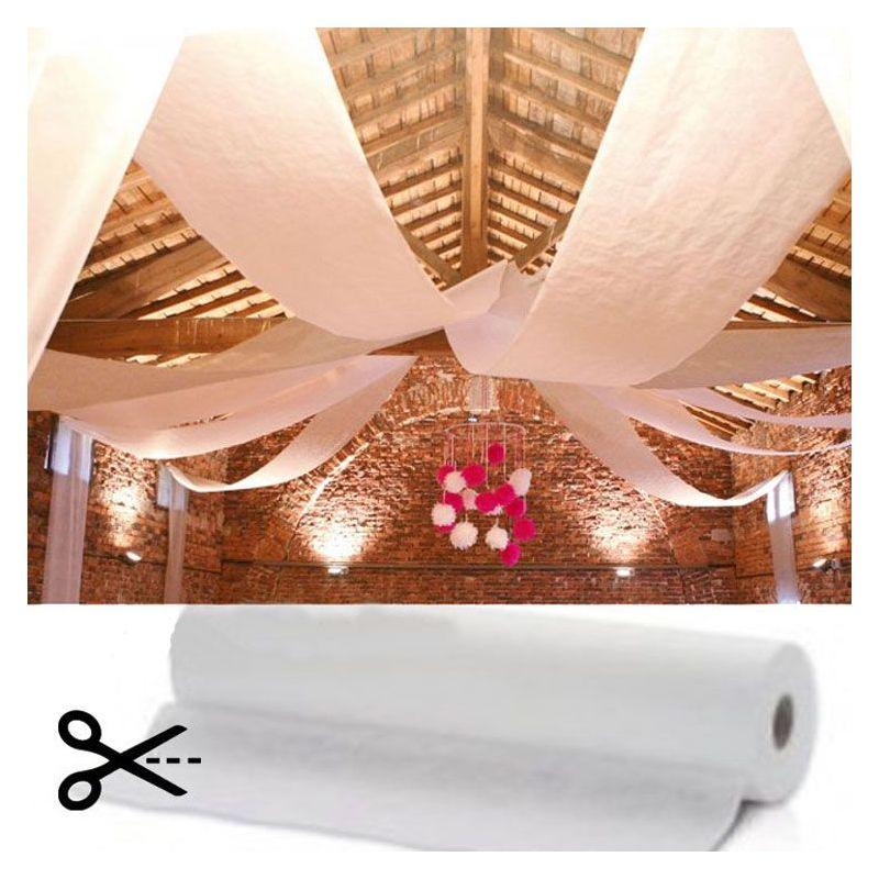 tenture salle blanche mariage pas cher capacit professionnelle 120m. Black Bedroom Furniture Sets. Home Design Ideas