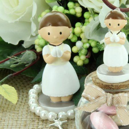 Figurine communion fille 8CM