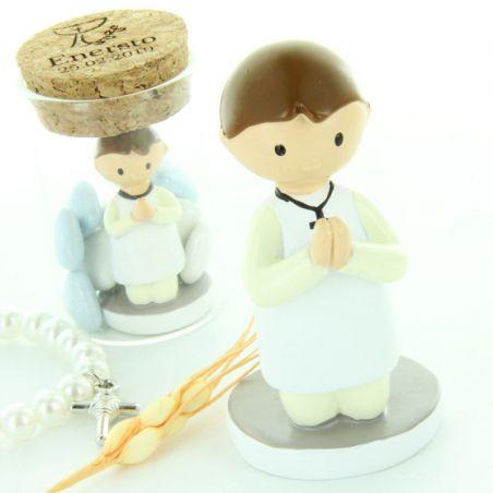 Figurine communion 8cm Garçon