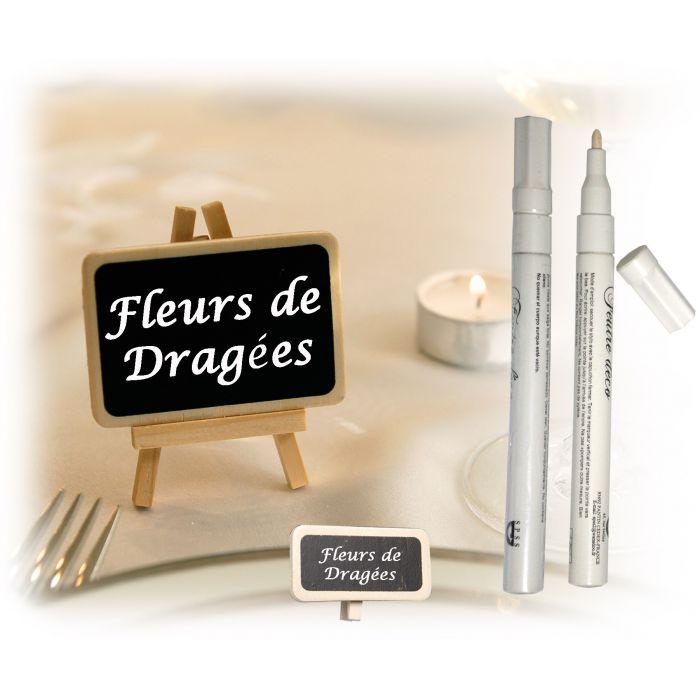 feutre d co blanc d corations de table fleurs de drag es. Black Bedroom Furniture Sets. Home Design Ideas