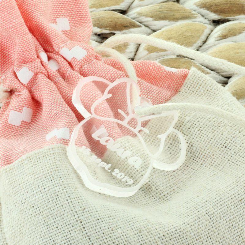 Etiquettes dragées Plexi Minnie