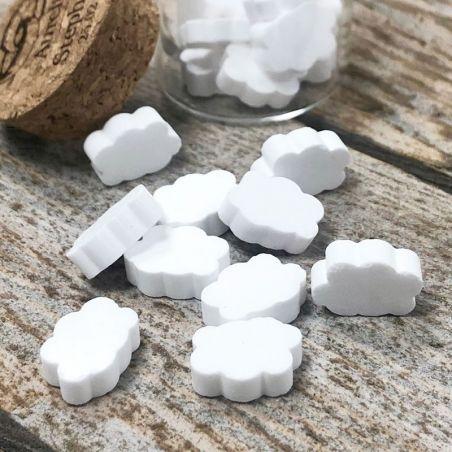 Bonbon mini Nuages dextrose 990psc - Blanc