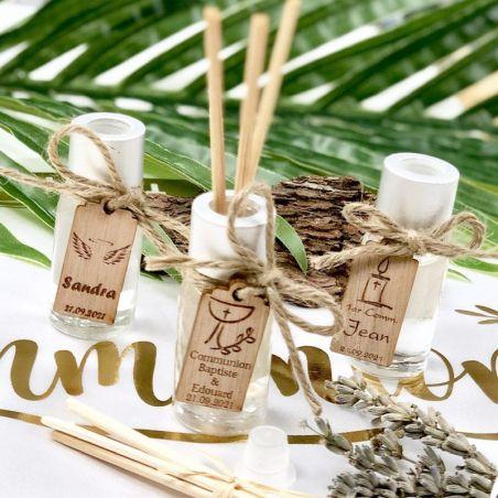 Mini diffuseur parfum Personnalisé Communion (lot de 10)