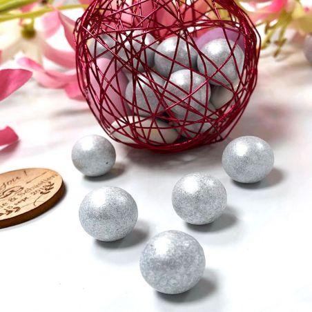 Bonbon Balls argentée (1200 pcs) 3kg