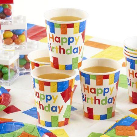 Gobelet anniversaire LEGO PARTY X10