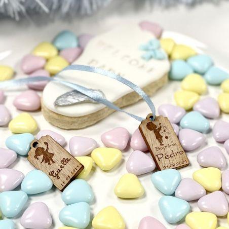 Dragées Coeurs chocolat thème Baby - 500gr