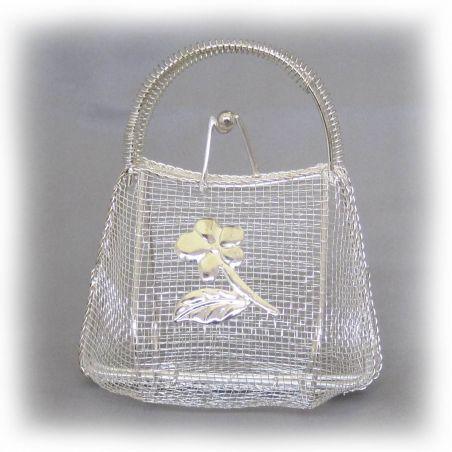 Mini sac à main fer forgé